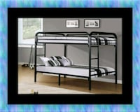 Twin bunkbed frame with 2 mattress 43 km