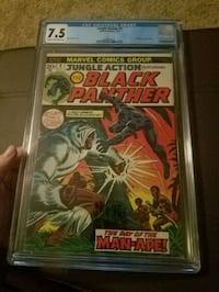 Jungle Action 5 1st Solo Black Panther Marvel CGC  Knoxville, 37923