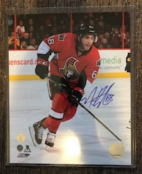 Mike Hoffman Signed 8x10 Barrie