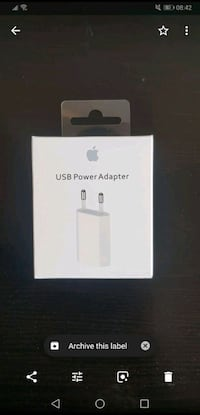 Caja de cable Apple Lightning a USB El Vendrell, 43700