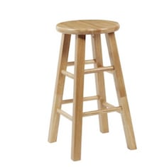 Wooden bar stools (3) ALL THREE FOR 30.00  New Jersey, 08859