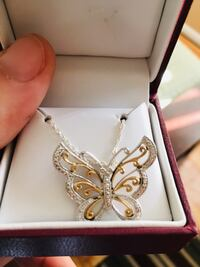 Brand new Butterfly necklace