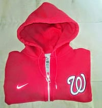 Nike - Nationals 2XL Zip-Up Hoodie - Excellent Silver Spring, 20906