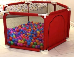 Baby playpen without basketball net- brand new