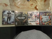 four sony ps3 video games Woburn, 01801