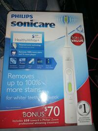 Never used top of the line Sonicare toothbrush