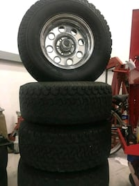 16.5X10 6 LUGS FIT CHEVY AND TOYOTA 2390 mi
