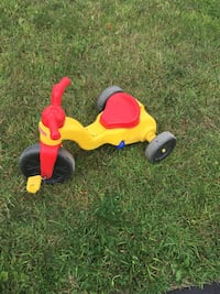 Fisher Price three wheel bikes