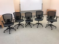 Mesh Back Chairs, Excellent Condition, Cheap Price! Mississauga