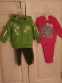 New 5pc Girls Pant Sets Raleigh
