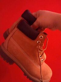 Timberland's size1 for boys . Great condition Catonsville