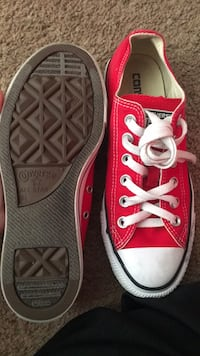 Pair of pink converse all star low-top sneakers Houston, 77022