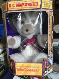 Teleconcepts k.c bearifone 2 plush toy window box Otonabee-South Monaghan