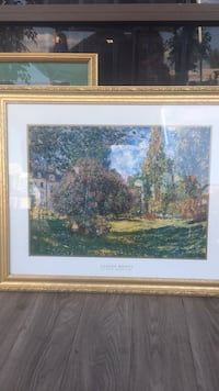 brown wooden framed painting of house near body of water Phoenix, 85009