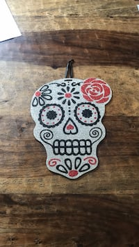 SPARKLY DAY OF THE DEAD WALL HANGING Ellicott City, 21043