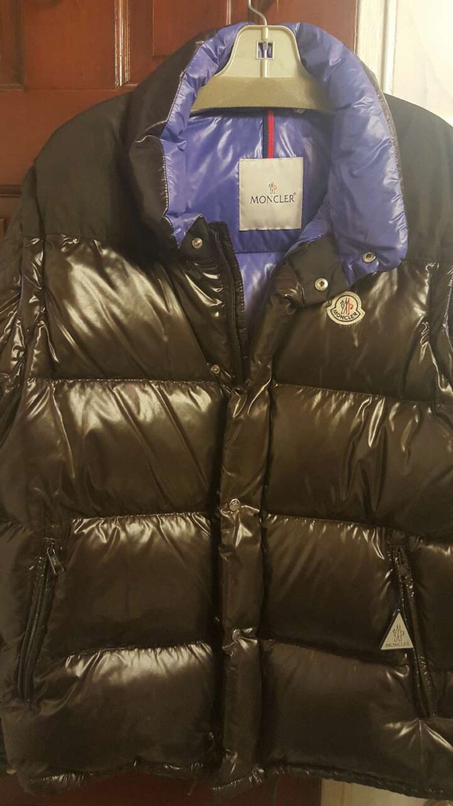 letgo - MONCLER MEN'S 100% DOWN JACKET in Brooklyn, NY