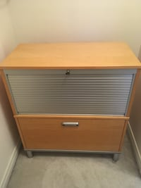 Pine lateral IKEA filing cabinet 547 km