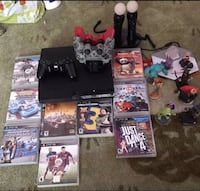 assorted PS3 game cases and controllers Hyattsville, 20783
