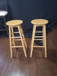 2 - Stools, Excellent Condition! Bolton, L7E 1X4
