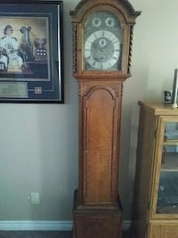 Turn of century English Grandfather clock   Orillia, L3V 7S7