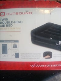 Twin DOUBLE-high air bed Vancouver