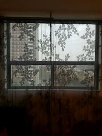 Two grey curtains for $5 Toronto, M2M 4B9
