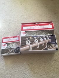 Christmas light clips Brand new 2 Box both $5