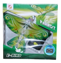 Remote Control Authentic E-Bird Parrot Flying Bird RC Toys (Techboy 98106 - Model) Lakeville