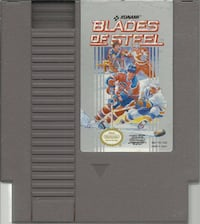 NES Blades of Steel  Original NES game cleaned, tested and working ++++++++++++++++++++++++++++++++++++++ Pick-up in Newmarket