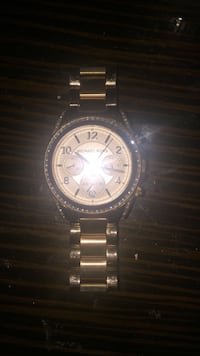 Rose gold Micheal Kors Chronograph watch