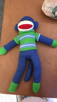 green and blue plush toy Laurel, 20723
