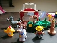 Little People Farm House, Tractor, 2 ppl 4 animals Ashburn, 20148