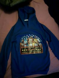 blue and yellow printed pullover hoodie Cornwall, K6H 5R5