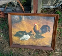 Framed Chicken Picture Smithfield, 27577