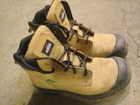pair of brown Timberland work boots Edmonton, T5A 3S8
