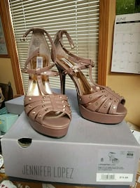 J Lo high heel shoes NEW $21 Size 8 Campbell, 95008