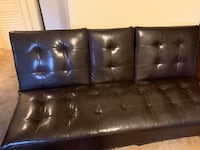 black leather tufted sectional sofa New Bedford, 02745