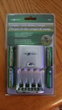 gray Nexxtech compact travel battery charger pack Oakville, L6H 7H9