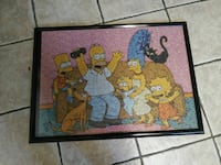 The Simpsons photo wall decor
