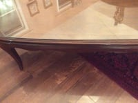 rectangular brown wooden coffee table Whitchurch-Stouffville, L4A
