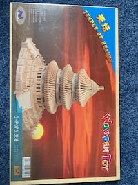 $20ea 3D puzzle, wooden lego  Sterling, 20164
