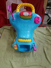 toddler's yellow and blue car and wa learning toy Tulsa, 74115
