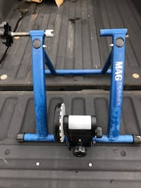 Mag bicycle trainer