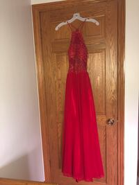 David's Bridal prom dress size 6