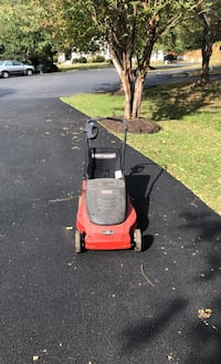 Electric Mower with bag