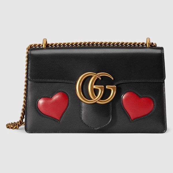4881998597f Used Gucci Marmont Hearts Shoulderbag for sale in San Diego - letgo