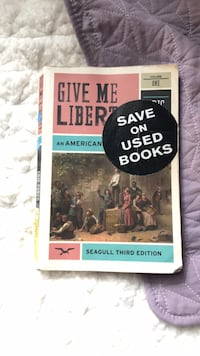 give me liberty book null