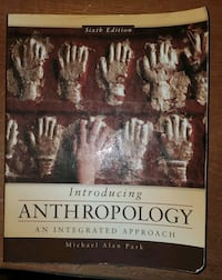 Anthropology textbook 6th edition  Toronto, M1B 1S4