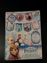 Frozen banner decorating kit