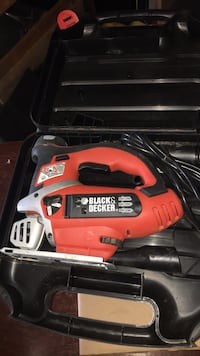 red and black Black & Decker jigsaw Ottawa, K1V 1Z5